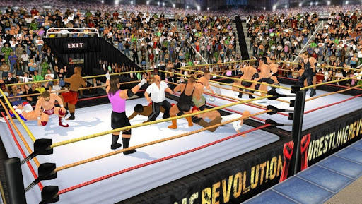 Wrestling Revolution 3D 1.640 screenshots 5