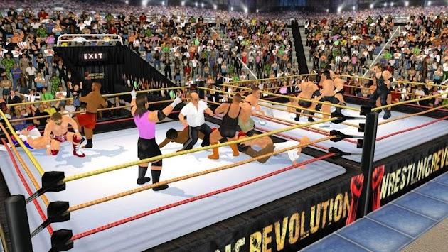 Wrestling Revolution 3D apk screenshot
