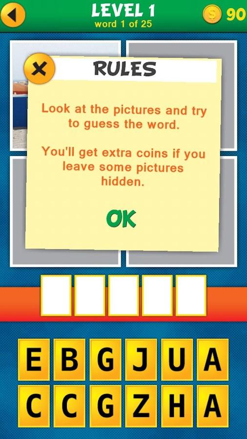 4 Pics 1 Word Puzzle- screenshot