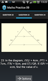 Mobile Maths Practice - screenshot thumbnail