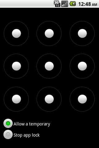 Shake AppLock- screenshot
