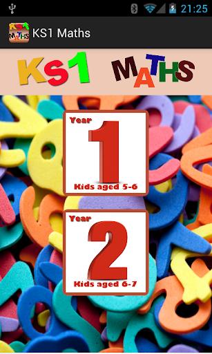 Key Stage 1 KS1 Maths