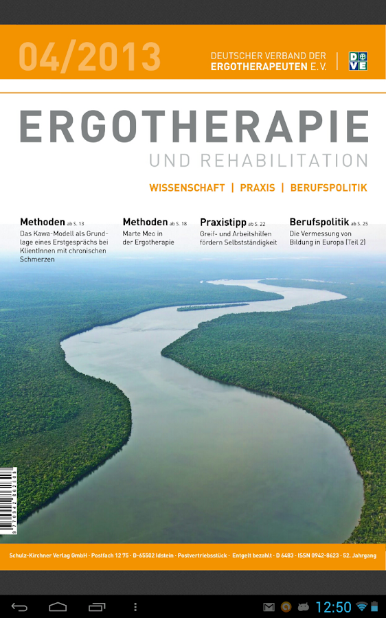 Ergotherapie and Rehabilition - screenshot