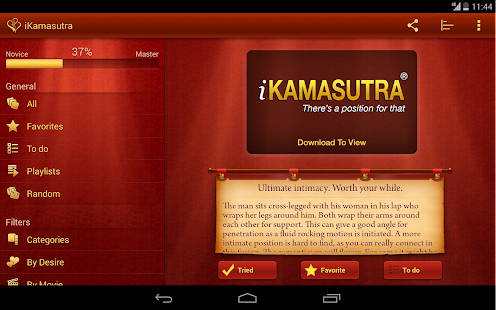 iKamasutra® Lite Sex Positions Screenshot
