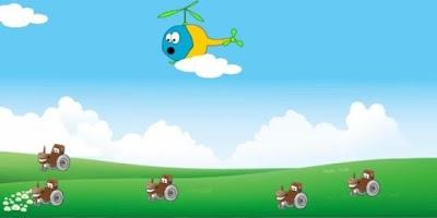 Screenshot of Kids Tractor Tipping