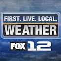 Fox 12 Wx logo