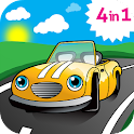 Car games for little kids icon