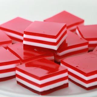 Valentine's 5-Layer Finger Jello.