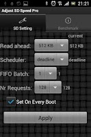 Screenshot of Adjust SD Speed Pro