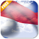 3D Monaco Flag Live Wallpaper icon