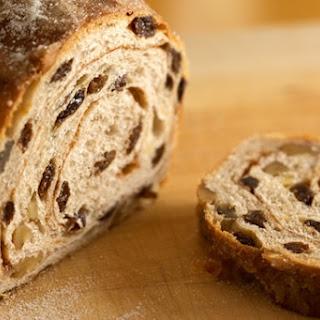 Cinnamon Raisin Walnut Bread.