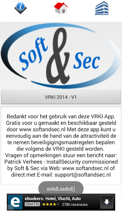 Soft & Sec VRKI 2015: screenshot