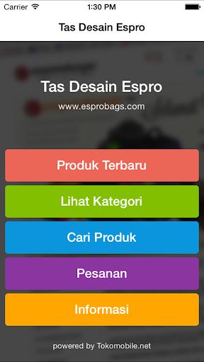 Tas Desain Espro
