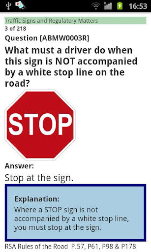 Driver Theory Test IRELAND