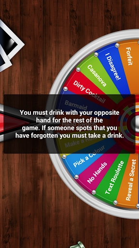 Party Games: Drinking Wheel