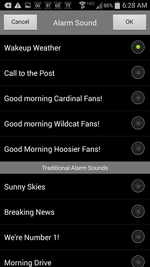Alarm Clock WLKY Louisville - screenshot