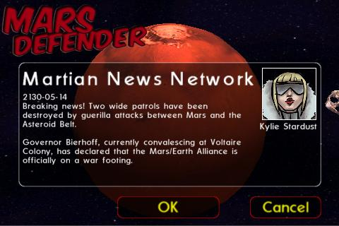 Mars Defender: Space RPG - screenshot