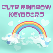 Cute Rainbow Keyboard