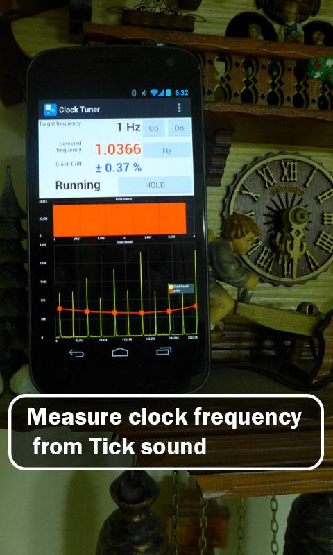 Clock Tuner- screenshot