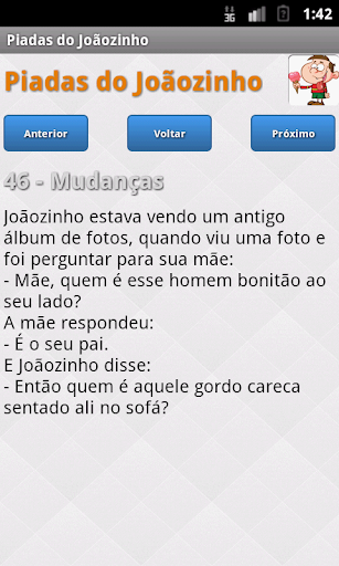 Piadas do Jou00e3ozinho 1.2 screenshots 3