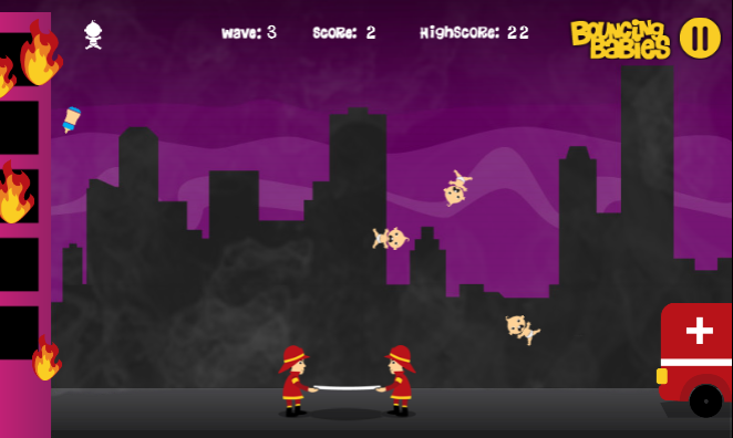 Bouncing Babies- screenshot