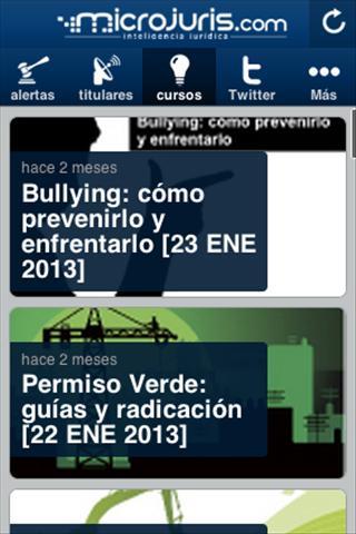 Microjuris al Día Puerto Rico - screenshot