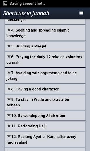 Shortcuts to Jannah