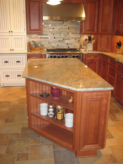 Kitchen Premier Fire And Ice Brick Tile Backsplash