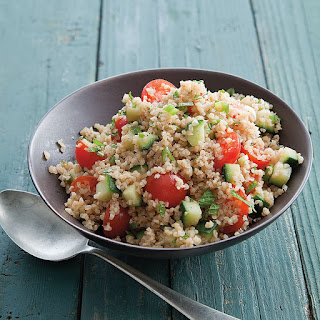 Tabbouleh with Mint and Cherry Tomatoes