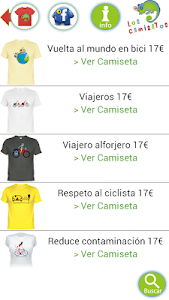 Camisetas Los Camisetos screenshot 2