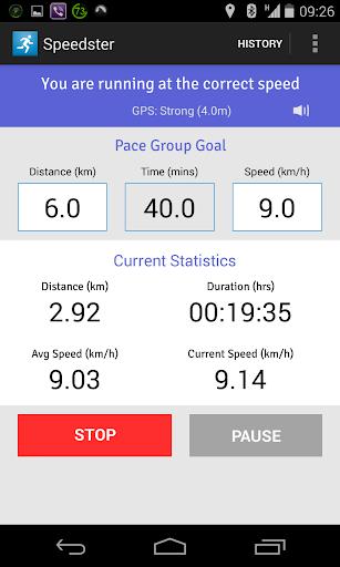 Speedster My Marathon Pacer