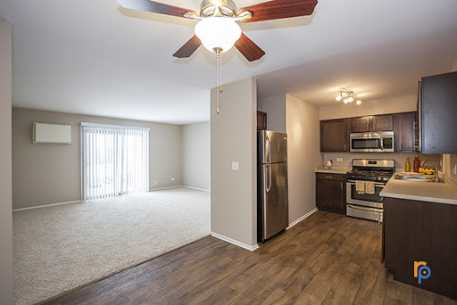 View from Dining Room of One Bedroom Apartment at Greenway at Carol Stream