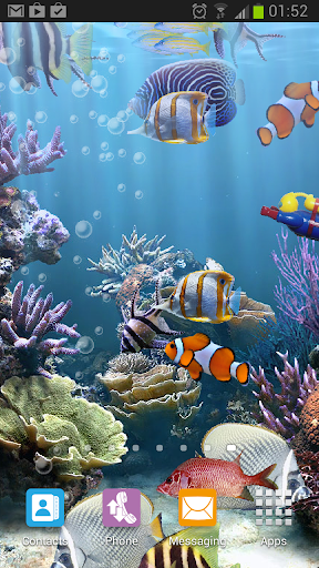 The real aquarium HD - Live Wallpaper 2.26 screenshots 1