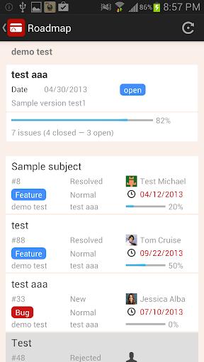 RedminePM - Redmine Client App 2.5.2 Windows u7528 5