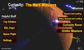 Screenshot of Curiosity: The Mars Mission