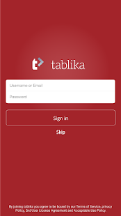 Tablika- screenshot thumbnail