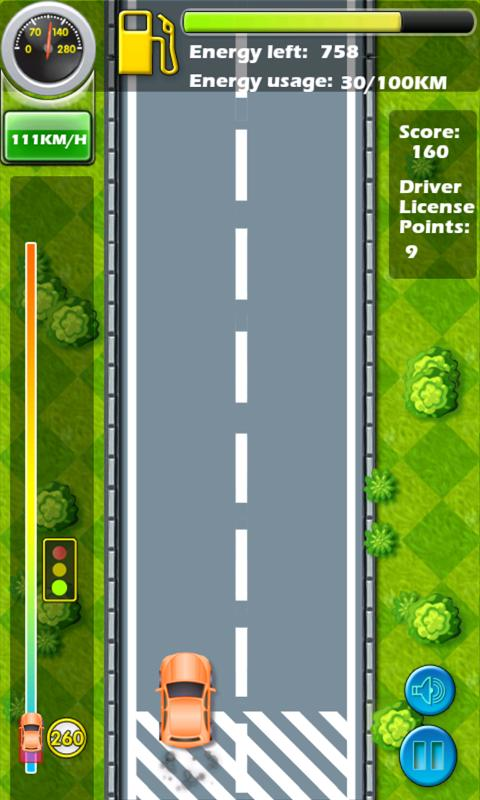 Green Driver: SPEEDY CAR - screenshot