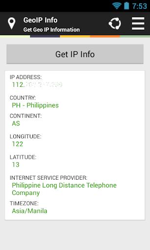 GeoIP Info