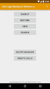 Call Logs Backup & Restore Pro v3.60