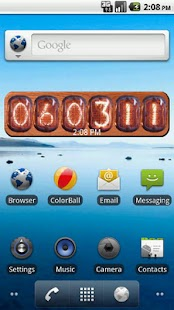 Nixie Clock Widget- screenshot thumbnail