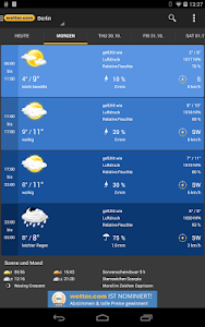 Weather and Radar - wetter.com screenshot 8