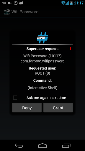Wifi Password(ROOT) 1.5.2 screenshots 2