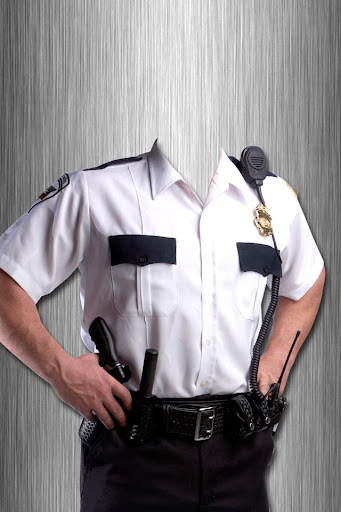 Police Suit Photo Montage