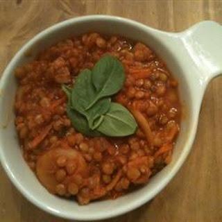 Beef Lentil and Vegetable Soup