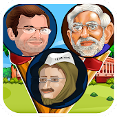 Modi Rahul Kejriwal (Fun Game)