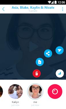 Skype Qik: グループビデオメッセージのおすすめ画像4