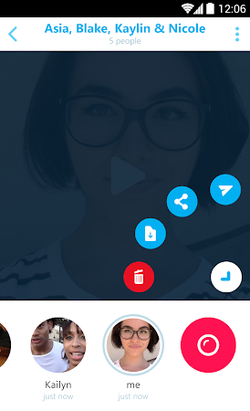 Skype Qik: Group Video Chat 1.9.0.6513-release screenshot 1732