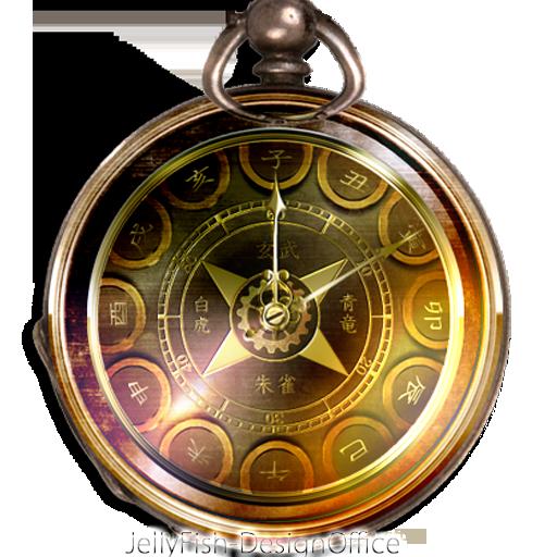 和風懐中時計・アナログ時計ウィジェット 個人化 App LOGO-APP試玩