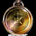 和風懐中時計・アナログ時計ウィジェット