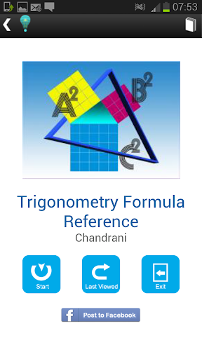 Trigonometry Formula Reference